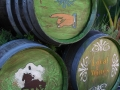 painted barrels