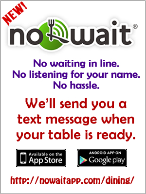 advertisement and link for NoWait
